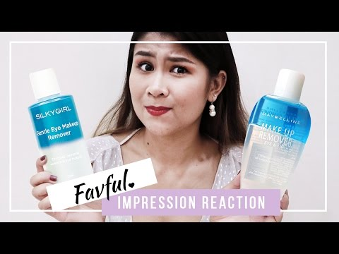 Maybelline vs Silky Girl Makeup Remover | First Impression | Favful♥