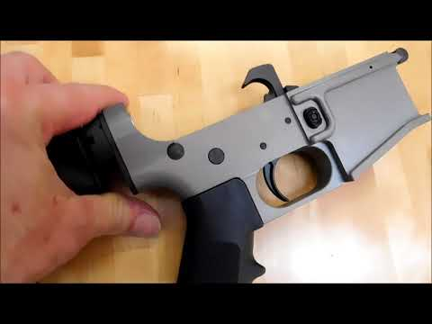 Anodized Lower Receivers