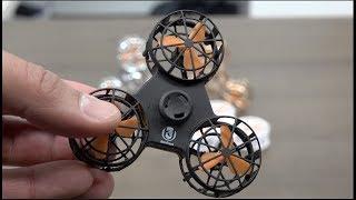 Este es el Fidget spinner volador del 2018 - Otro nivel de spinner