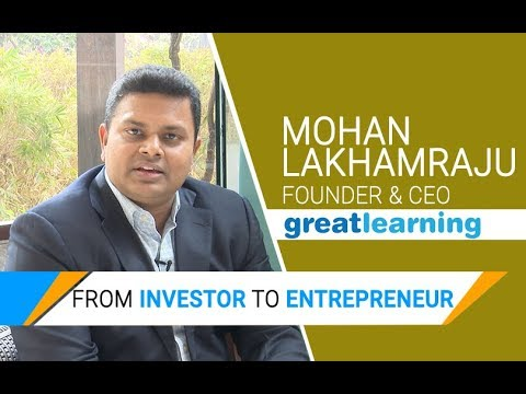 Former Tiger Global India MD Mohan Lakhamraju on his e-learning venture