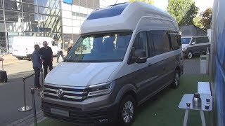 Tour of the VW Grand California 680 camper van Videos & Books
