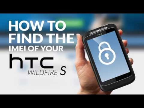 How to Find the IMEI (Serial Number) of your HTC Wildfire S