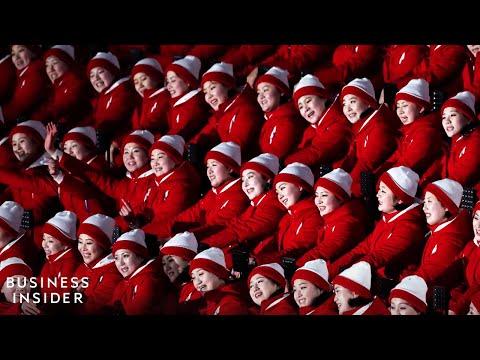 Why North Korea Sent Hundreds Of Cheerleaders To The Olympics