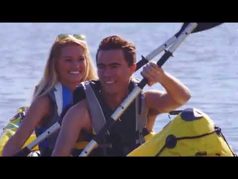 Intex Explorer K2 Kayak, 2 Person Inflatable Kayak Set with Aluminum Oars and High Output Air Pump