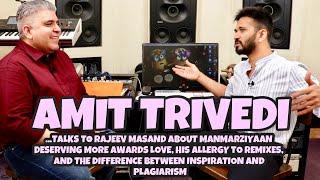 Amit Trivedi interview with Rajeev Masand I Awards I Remixes I Plagiarism