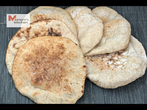 Egyptian Balady Bread/ National bread of Egypt