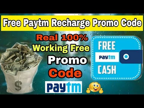 Paytm RS 10 Real 100% Working Free Promo Code 2018 For Recharge All Paytm Users [Hindi]