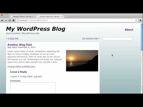Wordpress Theme Design Course: Comments - Part 2
