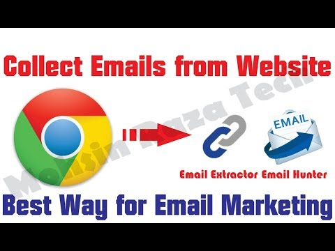 How to Collect Email Addresses from Any Website