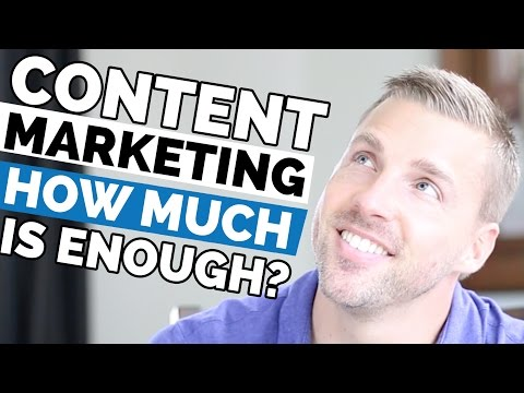 Content Marketing - How Much Is Enough For Your Content Marketing Strategy