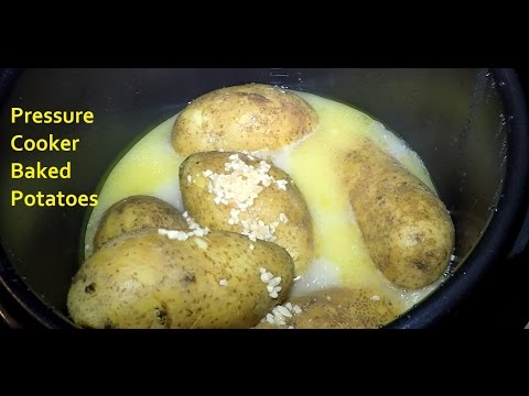 Buttery Baked Potatoes in a Pressure Cooker Cuisinart
