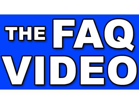 The FAQ VIDEO: Behind The Scenes Of