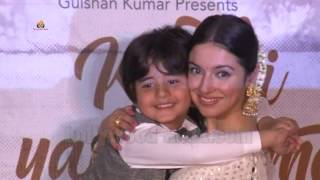 Kabhi Yaadon Mein SONG LAUNCH | Divya Khosla Kumar | CUTE  Little Star JASON
