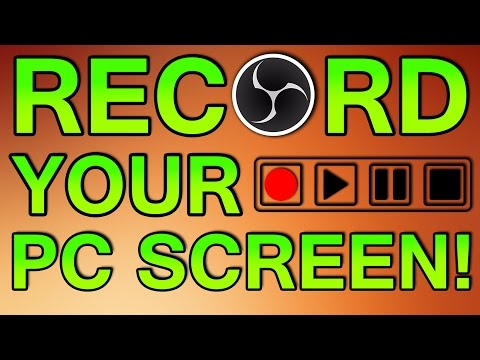 How To Record Your Computer Screen For Free! (2017)