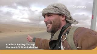 A Land of History   Arabia: A Journey Through The Heart of the Middle East   Sept 5 at 9 PM