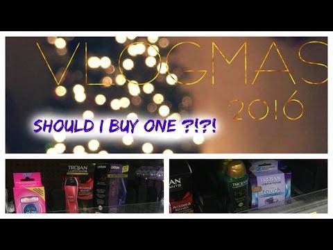SHOULD I BUY A VIBRATOR😏? |VLOGMAS '16| Day 5
