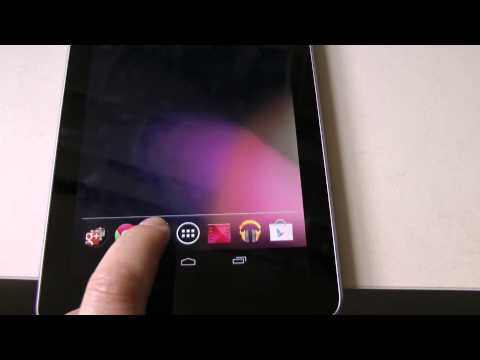 reading eBooks with larger fonts on the Nexus 7
