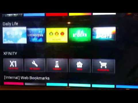 Comcast X1 apps Netflix, youtube, vevo and more