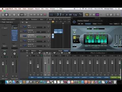 Autotune/Vocal Tuning in Logic Pro X - Beginners