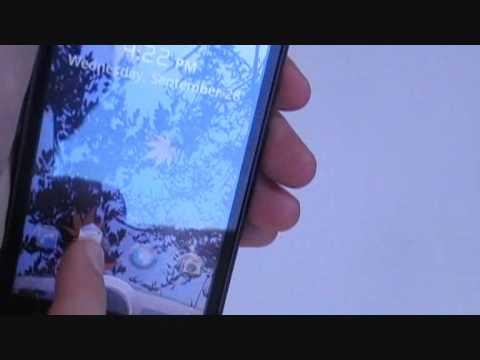 Agile lock demo {part 1} HTC desire HD