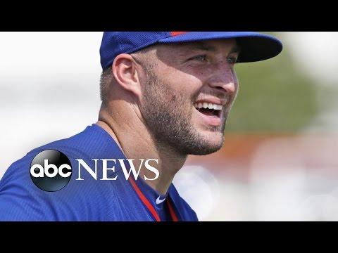 Tim Tebow Makes Minor League Baseball Debut