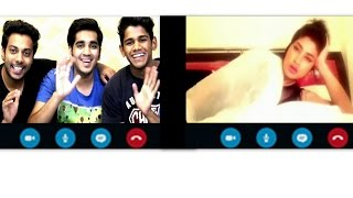 RealShit-   Skype session with Qandeel Baloch  