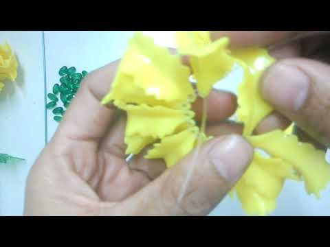 DIY Beaded Marigold Flower Tutorial