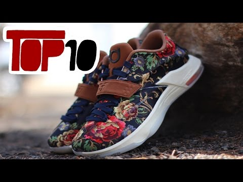 Top 10 Nike KD 7 Shoes Of 2015