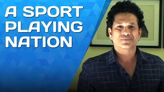 Let's make India a sport playing nation.