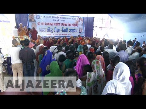 India: Thousands of Dalits convert to Buddhism in search of a social mobility