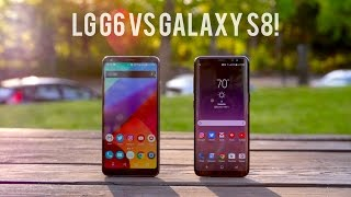 Galaxy S8 vs LG G6 Full Comparison (With Camera Test)
