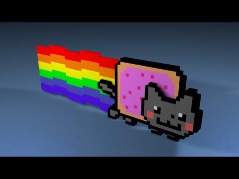 Nyan Cat Violent + Free Nyan Cat 3D Model Download (Fan made!)
