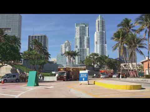 Miami Florida downtown tour and hotels reviews