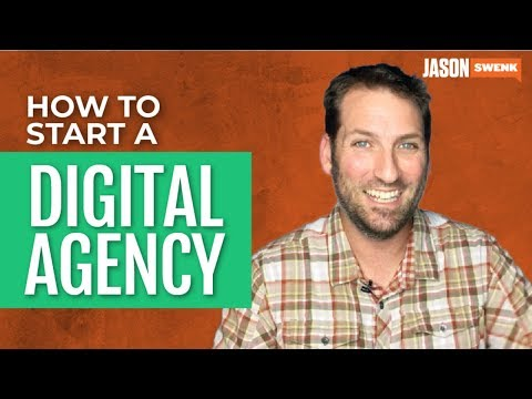 HOW TO START AN AGENCY | DIGITAL AGENCY STARTUP