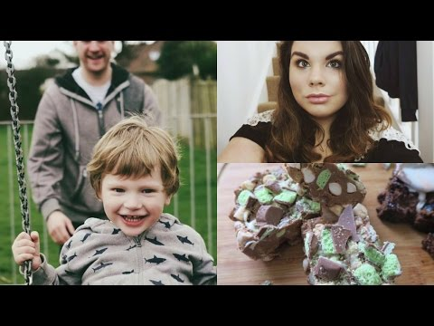 WEEKLY VLOG - the range & mint aero rocky road!