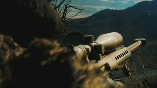 Perhaps the Best Sniper Mission in the games! Barret M82A1. Medal of Honour 2010