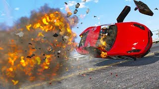 GTA 5 Car Explosion | BEST OF OCTOBER 2018