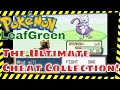 Pokemon LeafGreen Cheats Legendary Pokemon, Unlimited Rare Candy,  Shiny