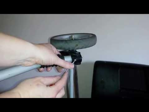 Graco CitiLite stroller - remove back wheel, front wheel & bumper bar