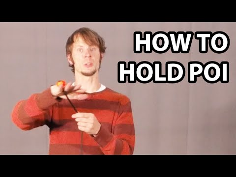How to Hold Poi (Beginner Poi Spinning Tutorial)