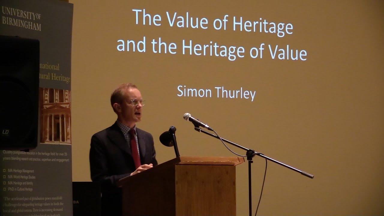 Ironbridge Annual Lecture 2014, Simon Thurley