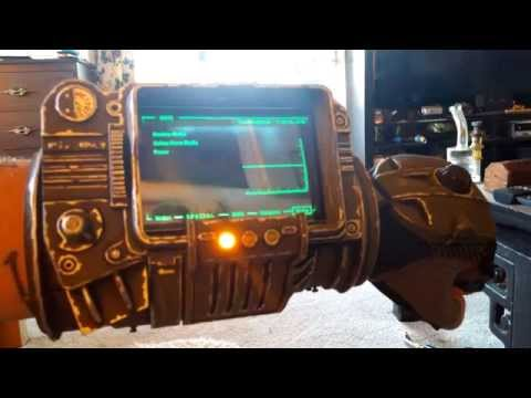 Functional Fallout Pipboy 3000 & Glove Prop