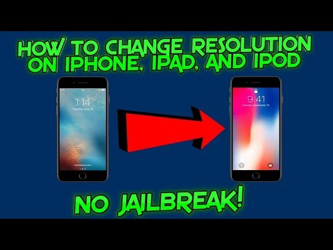 How To Change iPhone, iPad or iPod Resolution On iOS 11-11.1.2 On Mac | NO JAILBREAK!