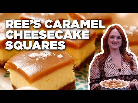 Ree's Salted Caramel Cheesecake Squares   Food Network