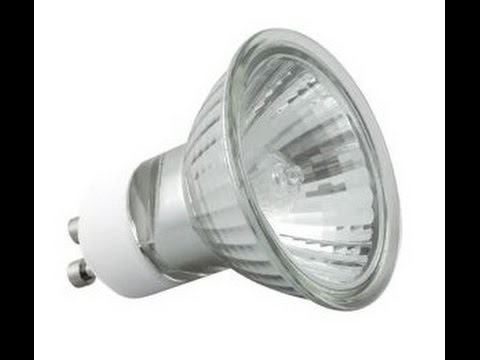 How to replace the light bulb GU10 LED, ceiling lighting (plasterboardS)