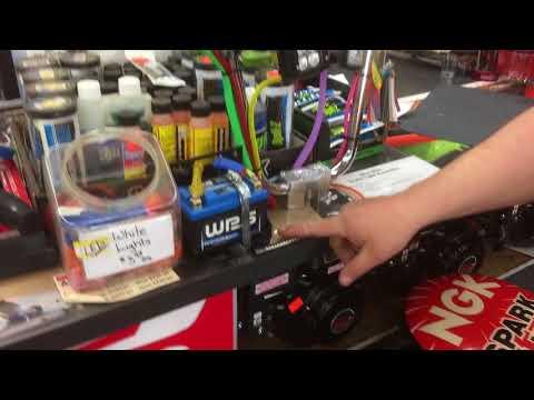 Mini bike brake light and turn signal kit