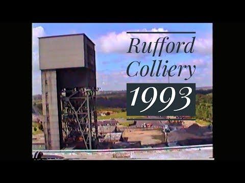 Rufford Colliery Rainworth 1993