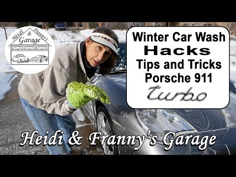 Winter Car Wash Hacks - Our Tips and Tricks for washing the Porsche 911 Turbo