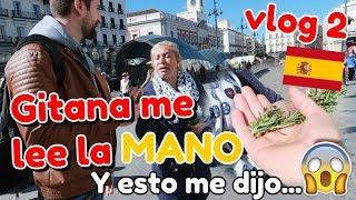 🔮Gitana me lee la mano 🖐️y ESTO ME DIJO😳 ... . VLOG ESPAÑA AMUZKIS !
