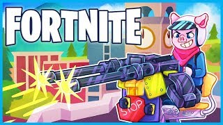 *NEW* MOUNTED TURRETS are BROKEN in Fortnite: Battle Royale! (Fortnite Funny Moments & Fails)